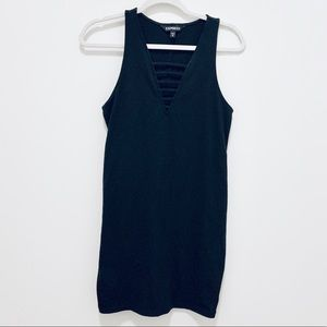 Express Black Sexy Dress